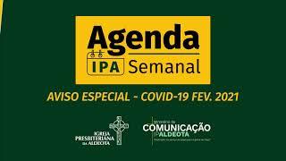 Aviso Especial - Resoluções do Conselho COVID-19 - Fevereiro 2021