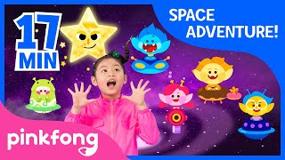 Eight Planets and more   Space Songs   +Compilation   Pinkfong Songs for Children
