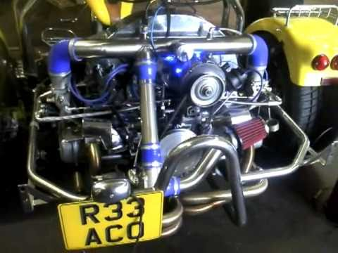 Manchester Aircooled 1776 Turbo DTA Fuel Injection First ...