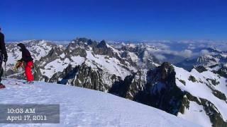 2011/04/16: Ski Dome des Neiges des Ecrins