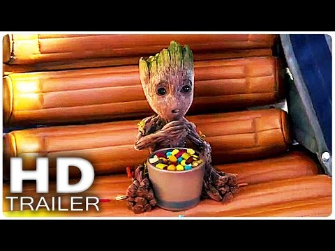 Thumbnail: GUARDIANS OF THE GALAXY 2 Alle Trailer German Deutsch Marvel Filme 2017