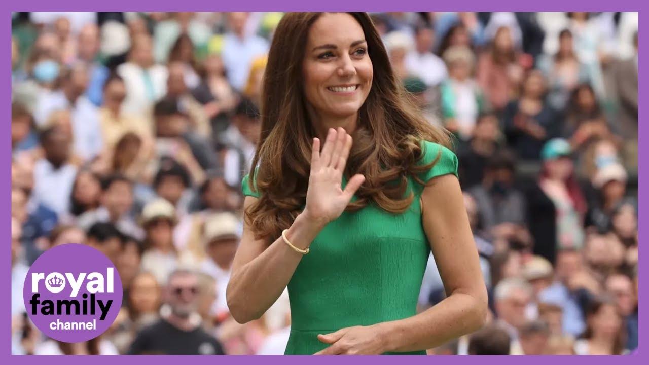 Kate Middleton Dazzles in Shoulder-Padded Summer Wardrobe