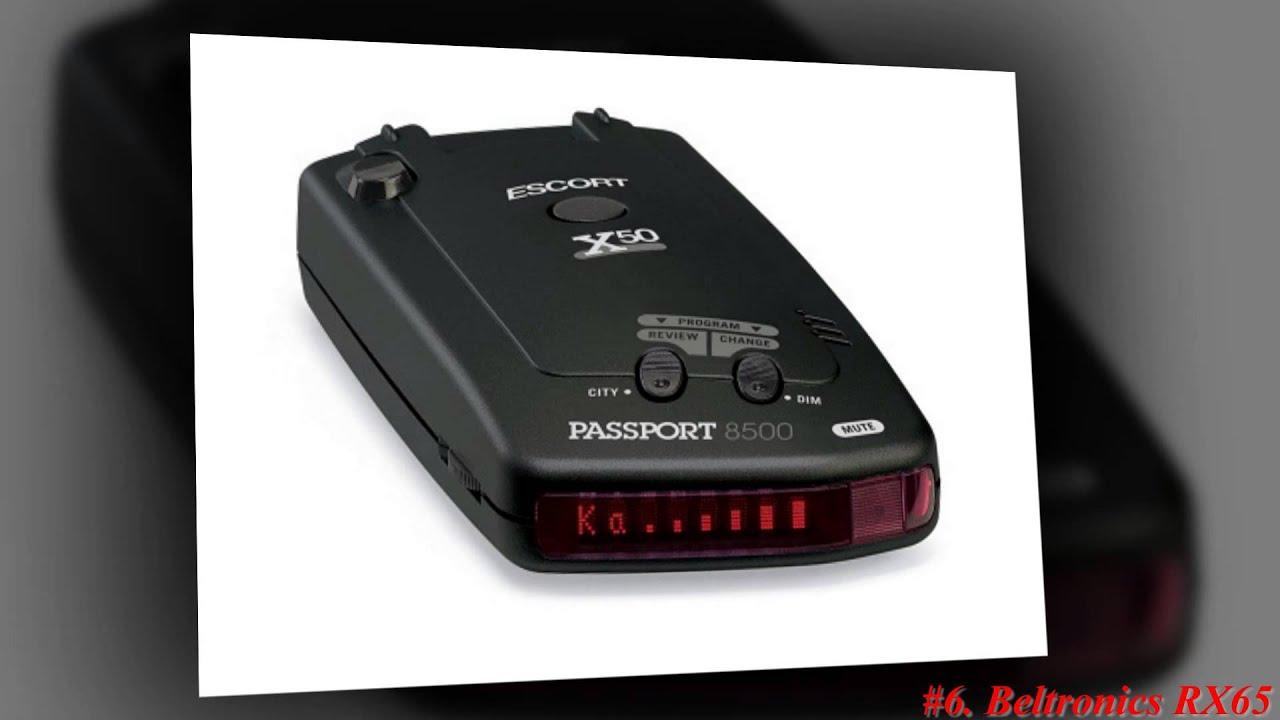 Passport Radar Detector >> Top 10 Best Radar Detector 2013 - YouTube