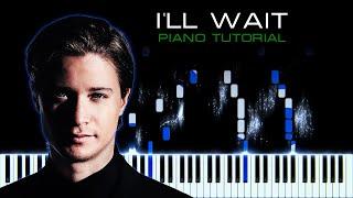 Kygo, Sasha Sloan - I'll Wait | Piano Instrumental Cover