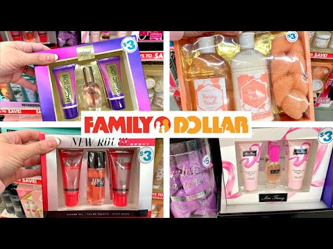 FAMILY DOLLAR SHOPPING!!!🎄CHRISTMAS GIFT SETS 👉SO CHEAP, JUST $3!!!