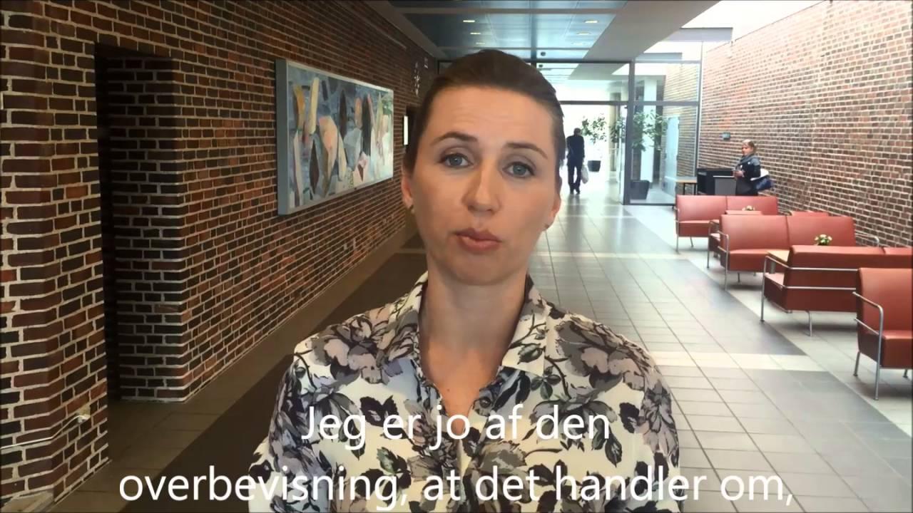 Mette Frederiksen om Socialdemokratiets principprogram