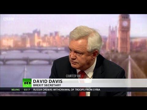 Davis backtracks over claim Brexit deal was 'statement of intent'