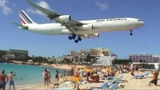 Jet Blast Kills 57 Year Old Woman At Maho Beach.. World's Most Dangerous Airport