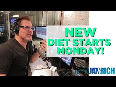 In-Studio Videos - New Diet Starts Monday...MAYBE!