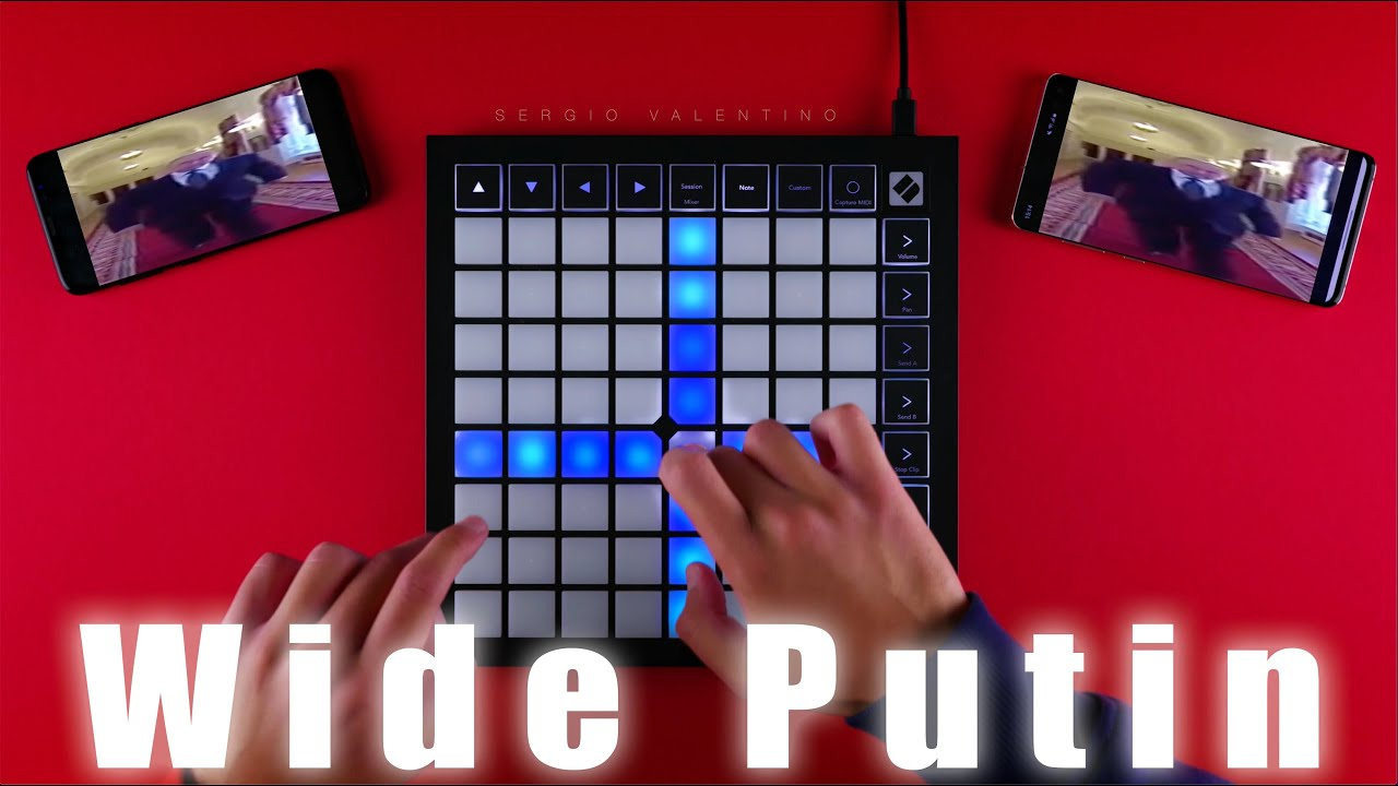 Wide Putin walking MEME (LAUNCHPAD COVER)