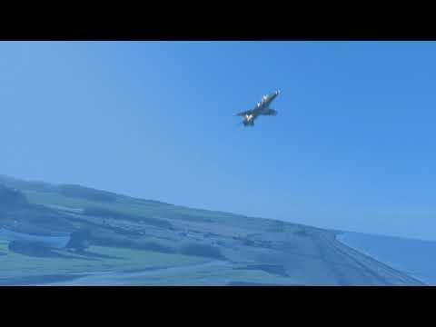 RAF & Fleet Air Arm Hawks training along North Norfolk Coast - Jan 2018