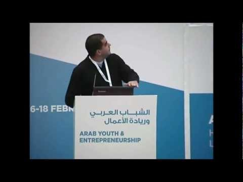"Ziad Abichaker at ""Arab Youth and Entrepreneurship"" Conference - Doha, Qatar"