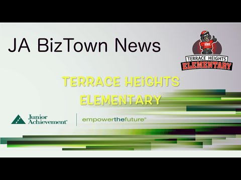 BizTown News Terrace Heights Visit January 30, 2015