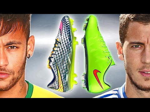 Neymar VS Hazard - Boot Battle: Nike Hypervenom vs Mercurial Vapor XTest & Review