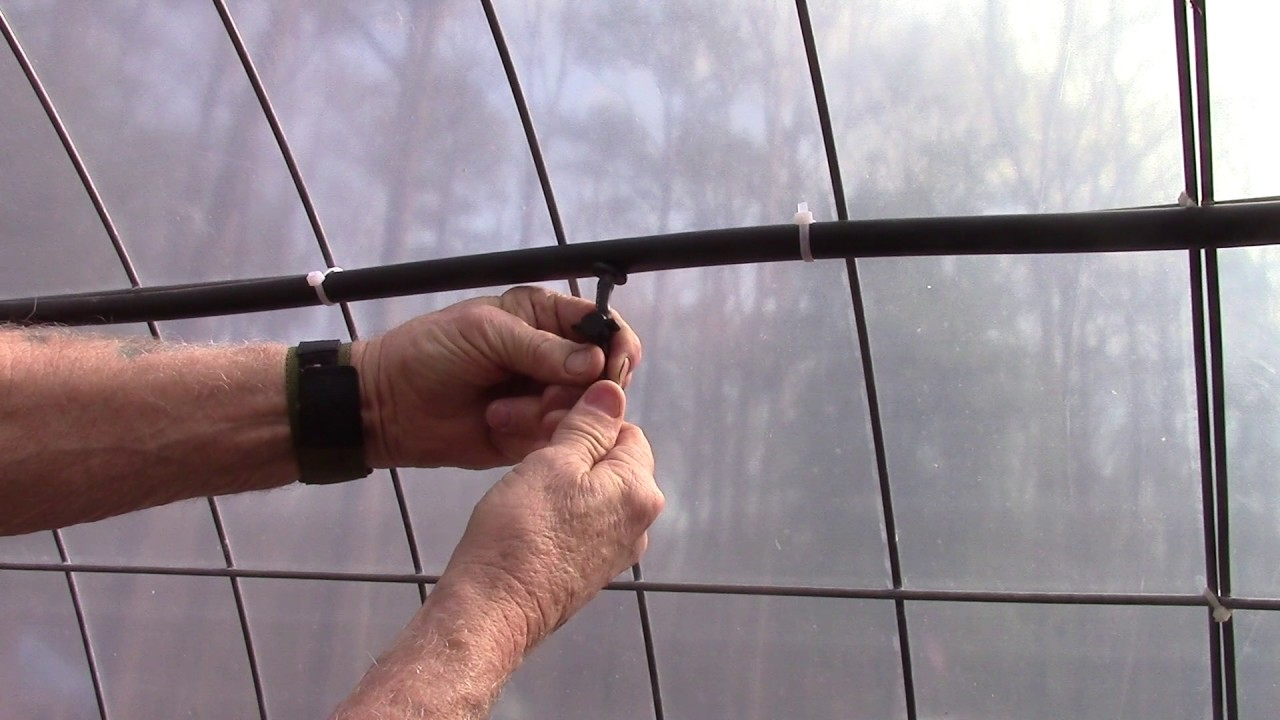 Controlling mist spray nozzles in the greenhouse
