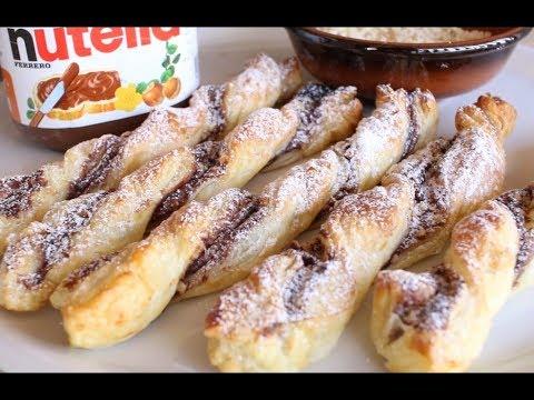 torsades-au-nutella  -recettes-avec-la-pâte-feuilletée-faciles-et-rapides
