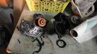 корпус термостата форд эксплорер, ремонт, замена, ford explorer