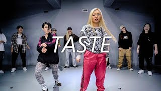 tyga taste dance tutorial routine