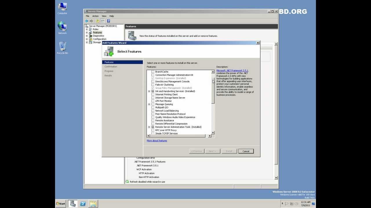 wsus pour windows server 2008 r2