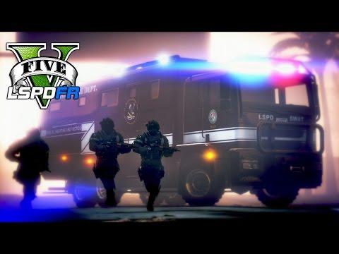 GTA 5 - LSPDFR Ep204 - Futuristic Ghost SWAT Team!!
