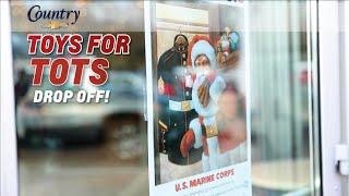 Toys For Tots 2019 -- Country Chevrolet Is An Drop-off Location! Let's Do This!