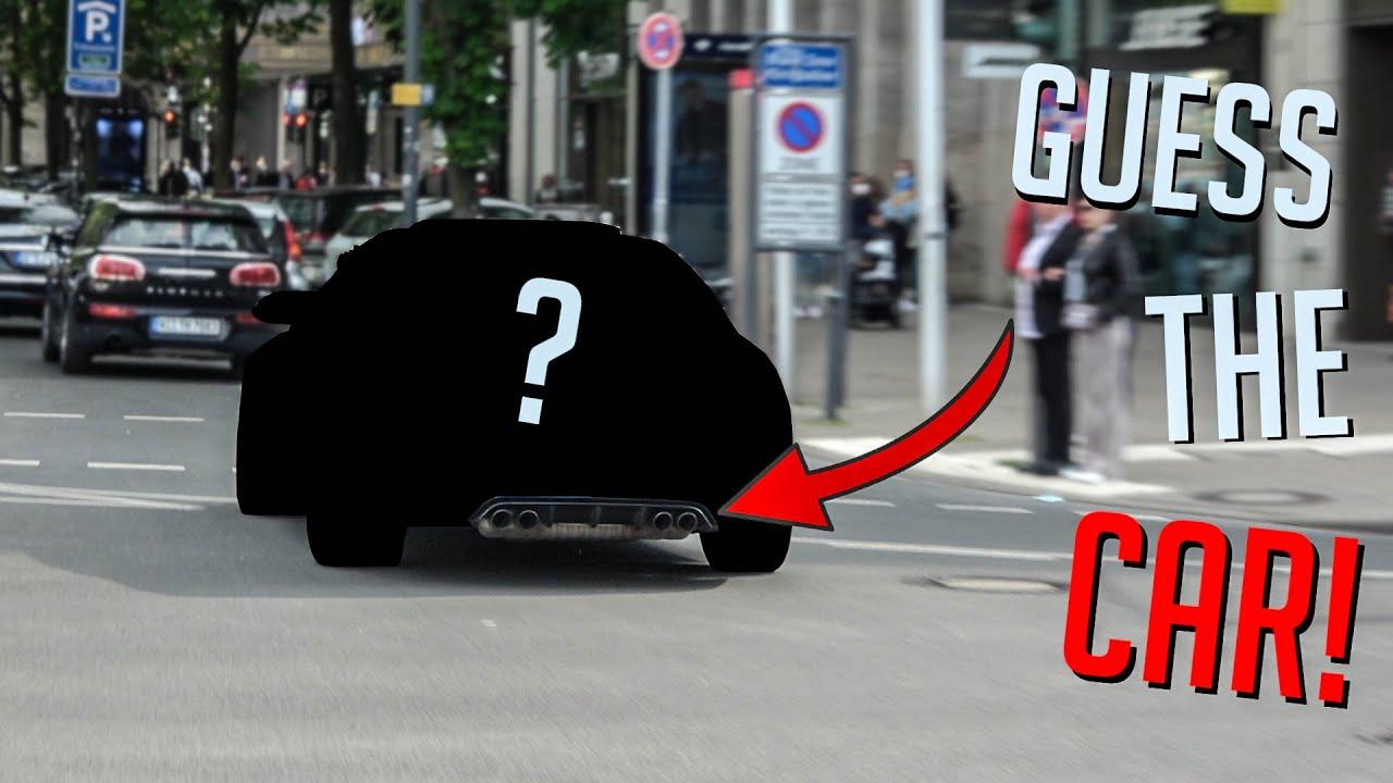 Auto-Quiz: Sportwagen NUR am Sound erkennen!! #5
