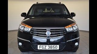FGZ3850 SsangYong Turismo 2.2 EX 5dr Tip Auto Estate