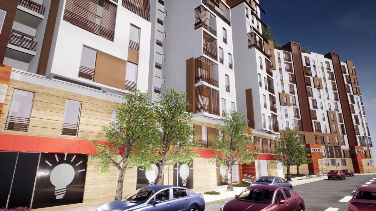 R sidence les dhalias appartements haut standing ain t mouchent youtube - Residence de haut standing ...
