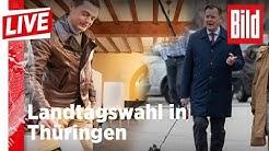🔴 Landtagswahl in Thüringen: Alle Prognosen, alle Ergebnisse und unsere Analysen hier mitverfolgen
