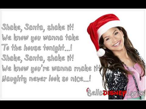 """Shake Santa Shake"" - Zendaya (Lyrics Video)"