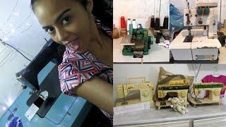 Tudo sobre Máquina de COSTURA Alana Santos Blogger