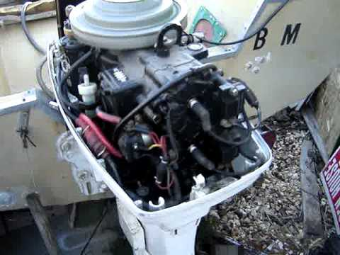 1985 Johnson 40 Outboard Engine Motor