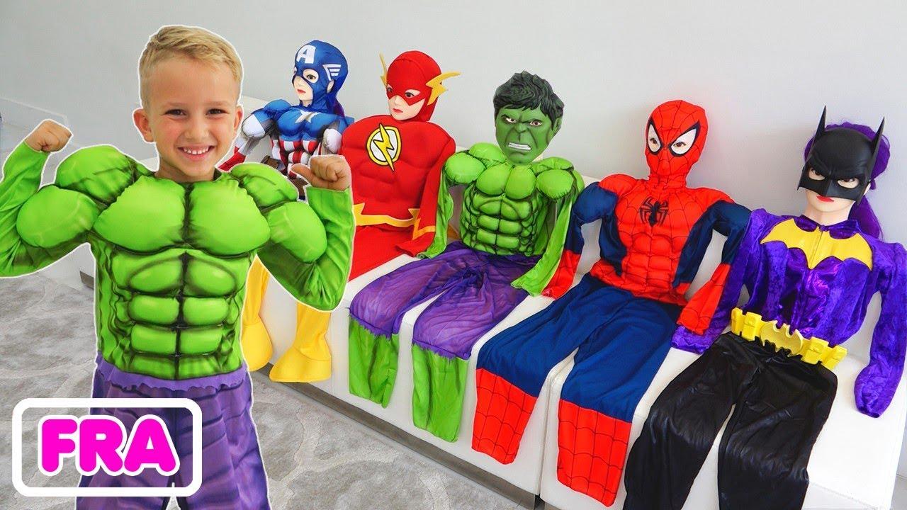 Download Collection d'histoires - Vlad se transforme en super-héro