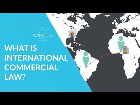 What is International Commercial Law? | Warwick Law School