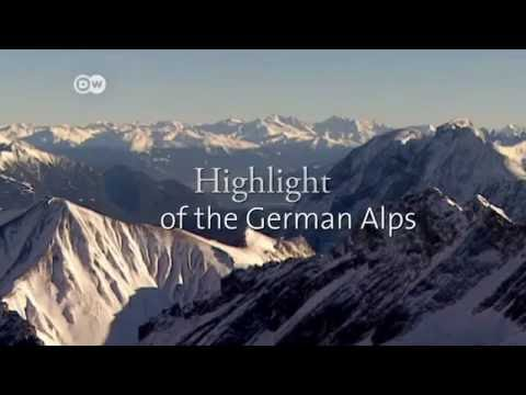 The TOP 10 sights and attractions in Germany -  Mount Zugspitze and Partnach Gorge