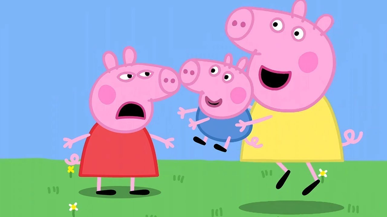 Peppa Pig in Hindi - Meri Cousin Behen Chloe - हिंदी Kahaniya - Hindi Cartoons for Kids