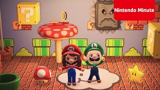 Animal Crossing: New Horizons – Super Mario Bros. Speed-run Challenge