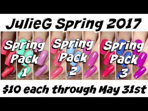 swatches-|-julieg-nail-polish-spring-packs