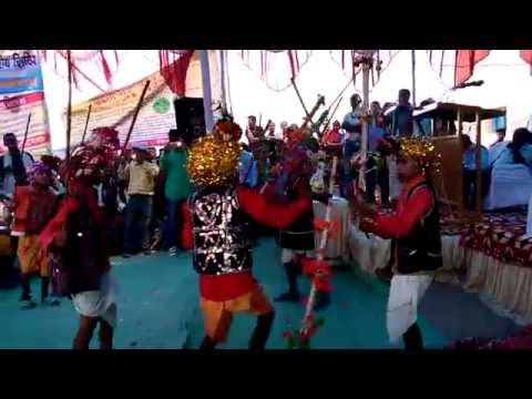 stej dance || Folk Dance Rawat Nacha in Bilaspur Chhattisgarh -school dagori