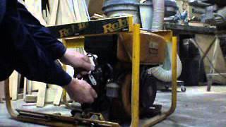 видео Дизельный двигатель Robin-Subaru DY 27D