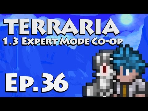 Invaded! [Let's Play Terraria 1.3 | Ep 36] (Terraria Expert Mode Co-op)