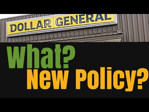 New Dollar General Coupon Policy?!??