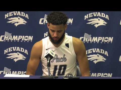 Nevada Men's Basketball Post Game Press Conference- Davidson