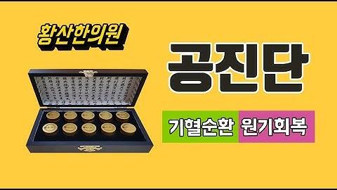 공진단 복용법 효능 _ 황산한의원