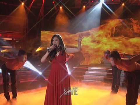 Sarah Geronimo sings Alicia Keys' 'Girl on Fire'
