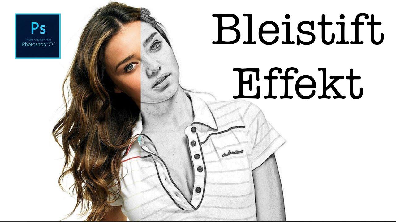 bild in bleistift zeichnung sketch effekt photoshop tutorial youtube. Black Bedroom Furniture Sets. Home Design Ideas