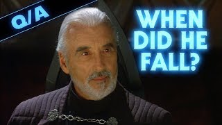 When Did Count Dooku Fall to the Dark Side - Star Wars Explained Weekly Q&A