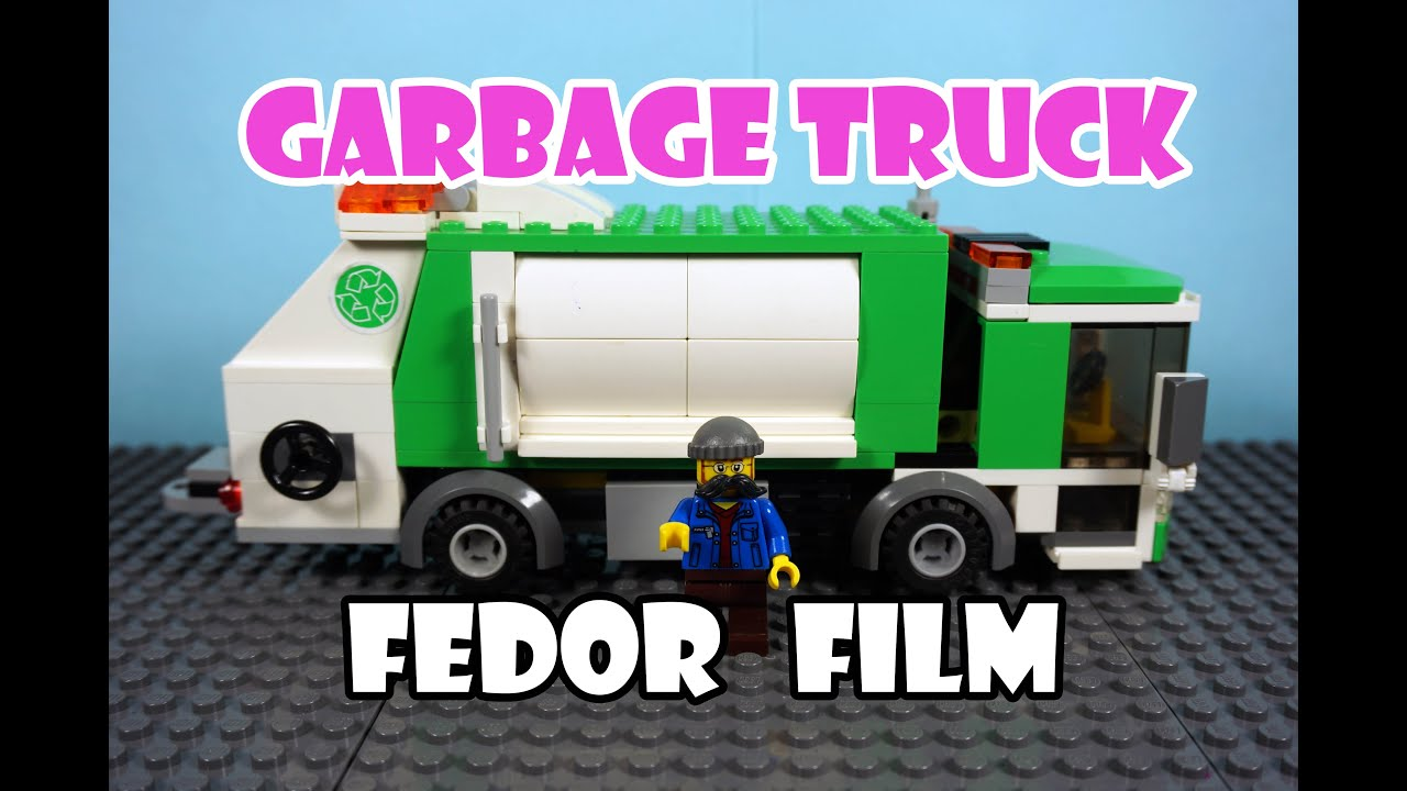 City: lego garbage truck instructions 4432, city.