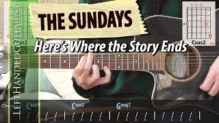 The Sundays - Here's Where The Story Ends | guitar lesson