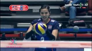 ไทยเปิดฟลอร์ 11-0 นิวซีแลนด์ *ชิงแชมป์เอเชีย 2019 Asian Championship : Thailand - New Zealand